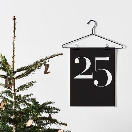 Christmas 25 Print   One Must Dash   Design Vintage #HomebaseMumsnetXmas