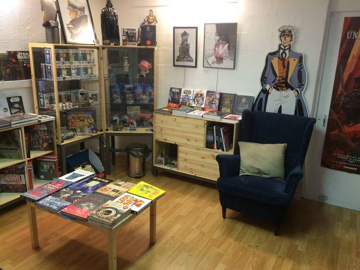 Librairie La dimension fantastique  106 rue La Fayette 75010 Paris Spécialisée en BD et littératures de l'imaginaire