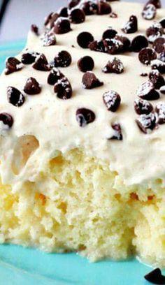 Canola poke cake