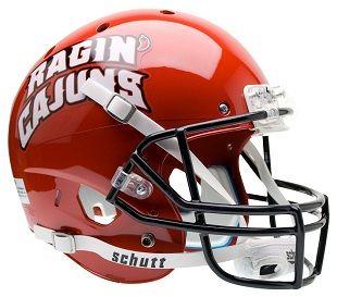 best college football helmets | Louisiana Lafayette Ragin' Cajuns Replica XP Helmet by Schutt