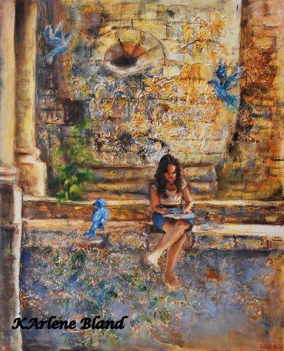 Paintings of Dreams - KARLENE BLAND FINE ART