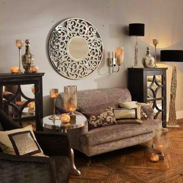 Metal Bark Textured Driftwood Lamp with Black Fabric Shade Medium by Artisanti