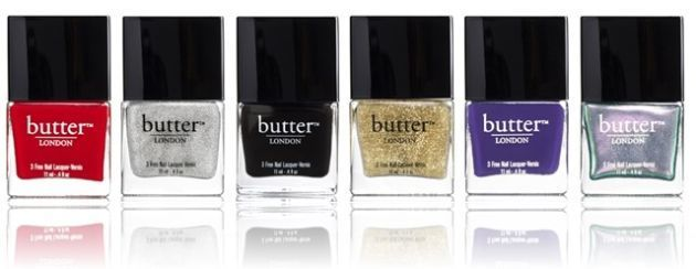 Founded in 2005 by British entrepreneur Sasha Muir, Butter London has always been about two things: safe, toxin-free formulas and aggressive, trend-driven colors. (And it doesn't chip easily, either.) In recent years, the brand's Horse Power Nail Fertilizer — which promises to make nails grow more quickly and stay strong — has become a hit. Butter London's chunky glitters are also a favorite. via StyleList