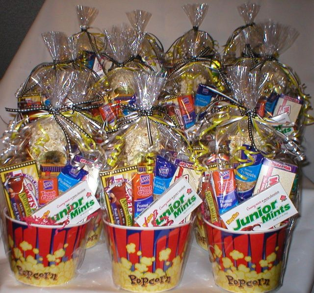 Movie Themed Popcorn TubsThese were for a local communications company  Convention Gift