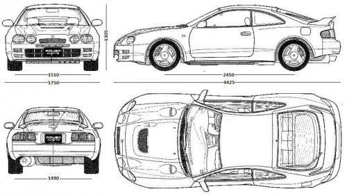 Toyota Celica VI Coupe • Dane techniczne • AutoCentrum.pl