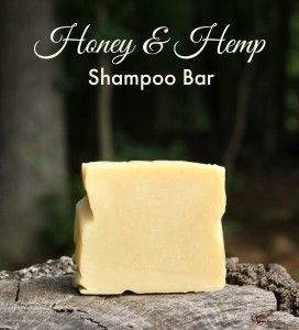 Honey and Hemp Shampoo Bar 2