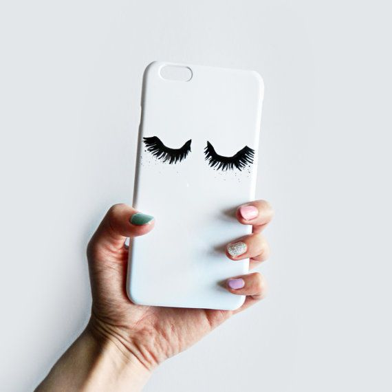 Fluttery Eyelash phone case for iPhone SE iPhone by RiannaPhillips