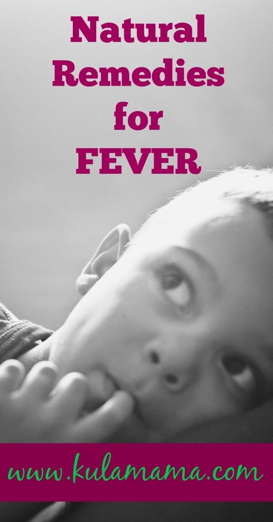 Natural Fever Reducer Remedies Kids