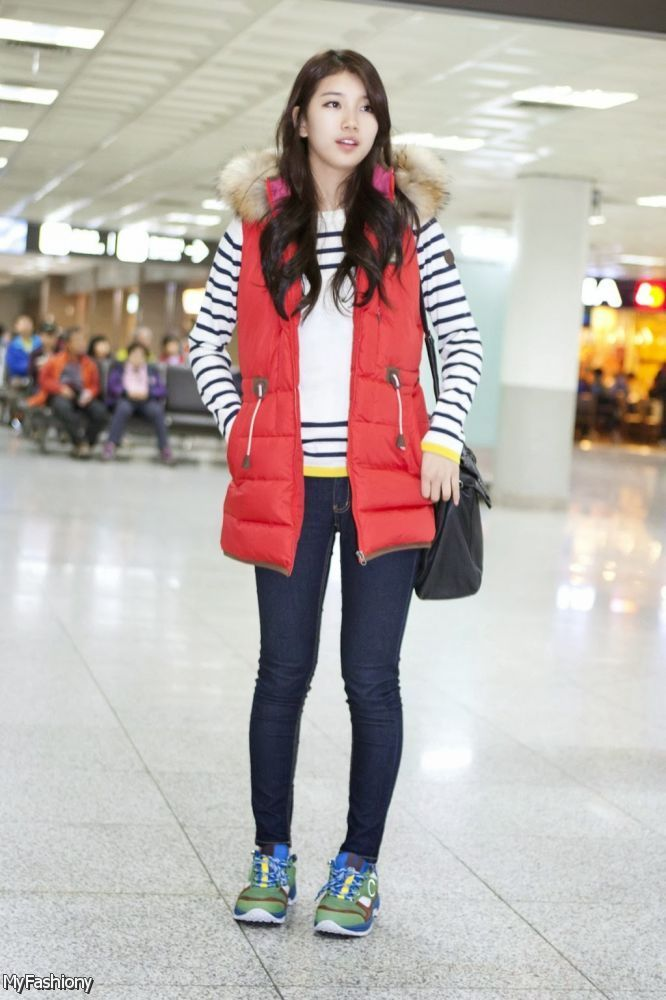 Korean Street Fashion Style 2015 2016 Myfashiony Fashion Style Pinterest Airports