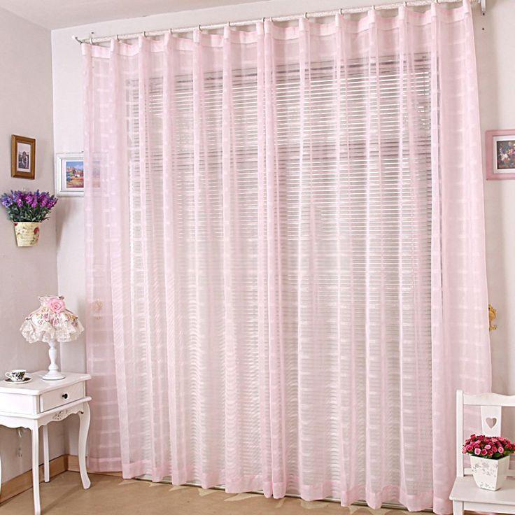 Die besten 25+ Pink sheer curtains Ideen auf Pinterest Rosa - vorhnge schlafzimmer ideen