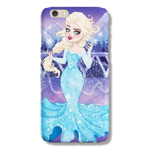 Elsa iPhone 6 case from The Dairy www.thedairy.com #TheDairy #PhoneCase #iPhone6 #iPhone6case