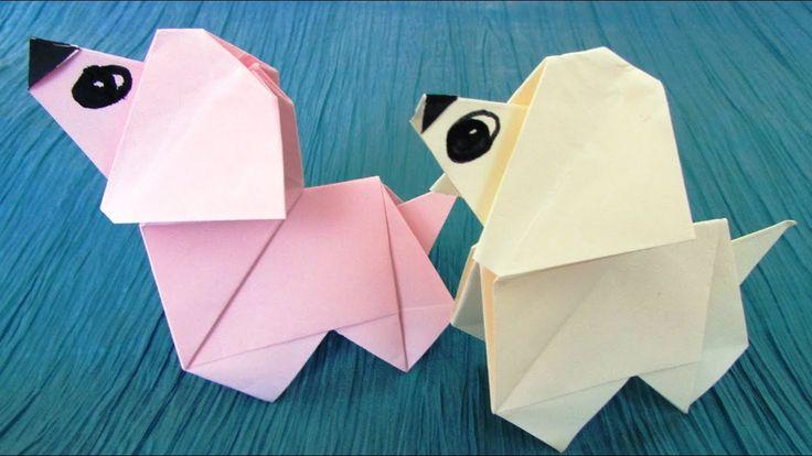 Origami : Chien