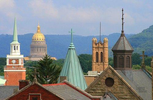 City of Charleston in West Virginia