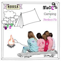 Kids pyjamas ideal for camping holidays and trips #camping #kidscamping #familycamping #campingholidays #outdoorsfamilies