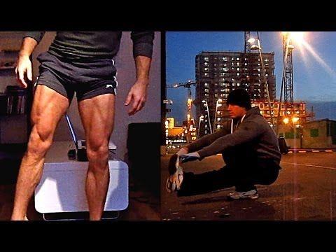 Calisthenics Leg workout - 10-15 Variations for street/home/gym (HD).
