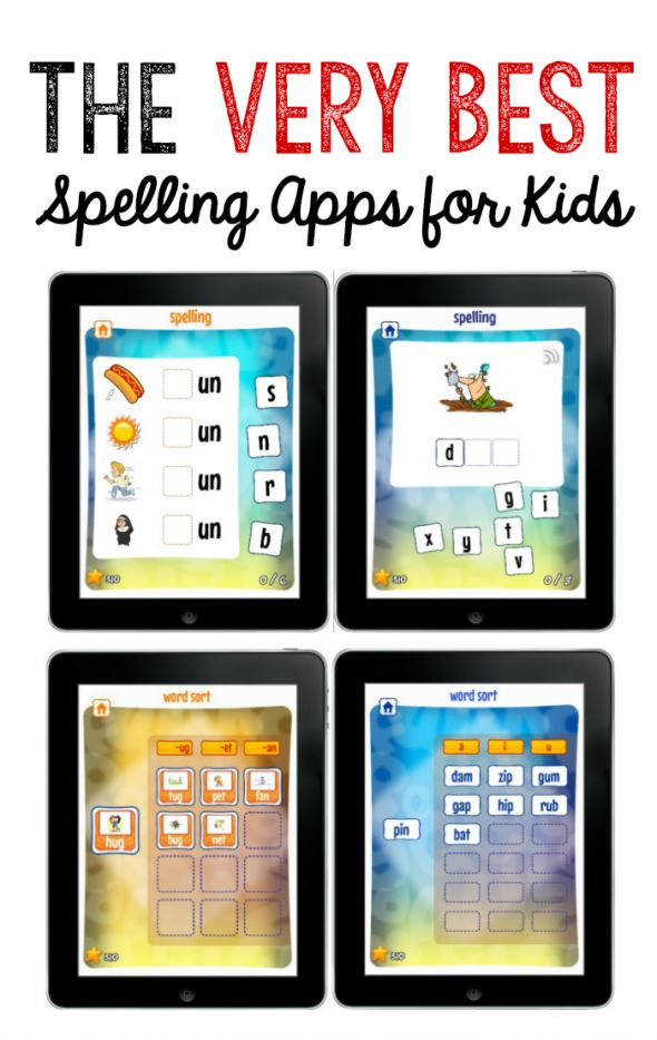 The Very Best Spelling Apps for Kids ~ Short Vowel Word Study & Long Vowel Word Study   The Measured Mom