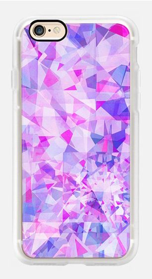 Casetify iPhone 7 Case and Other iPhone Covers - pink diamond pattern by Marta…