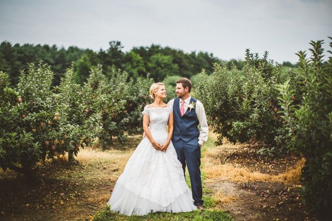First Look in Apple Orchard