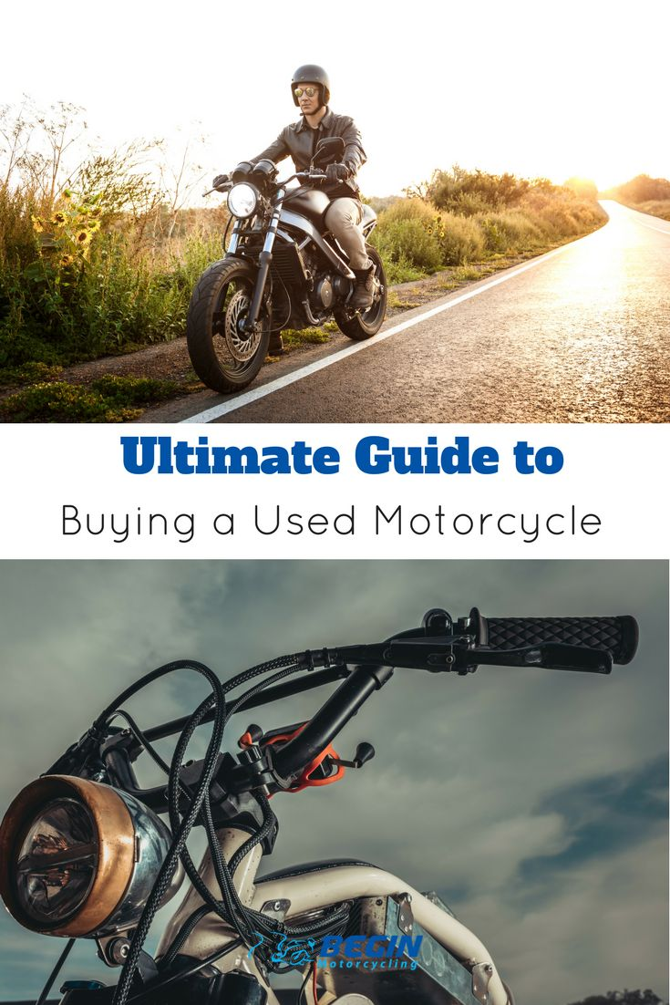FREE Checklist - What to check for when buying a used motorbike or scooter. It is essential to know what to check for when buying a second hand motorbike or scooter.  Unfortunately there are many scam artists out there who are looking to take advantage of inexperienced buyers.   With this in mind we created a free and simple used motorcycle checklist.  #usedmotorcycle #checklist #secondhand #motorbikes #beginmotorcycling