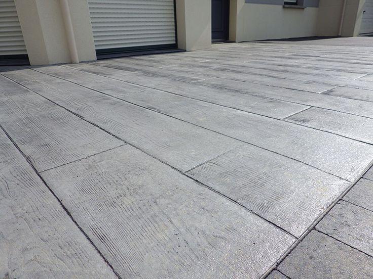 beton decoratif pour entree de garage - Google Search
