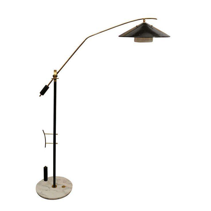 adjustable floor lamp modern lamps with magnifier oil rubbed bronze uk