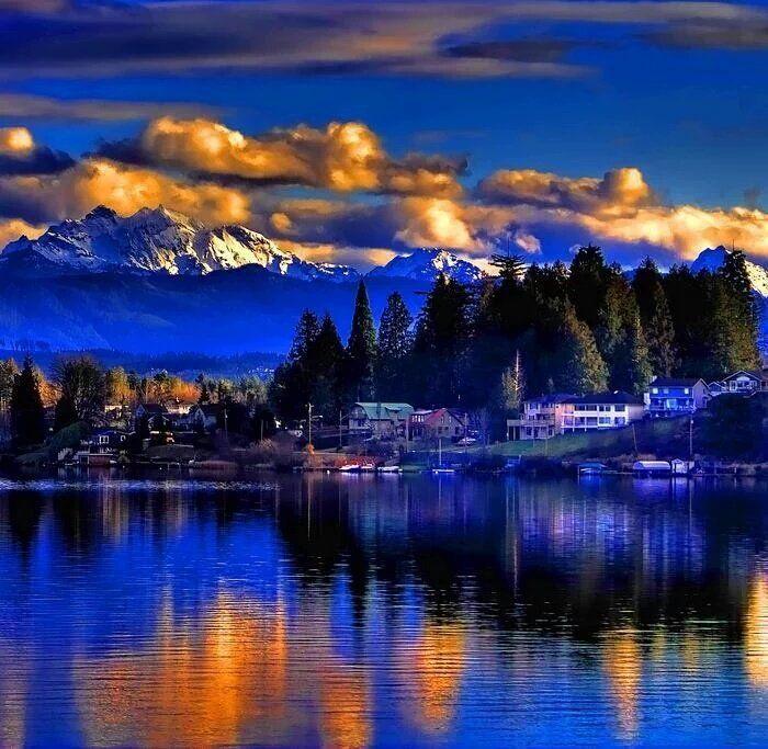 Stevens Gölü - Washington _ AMERİCA