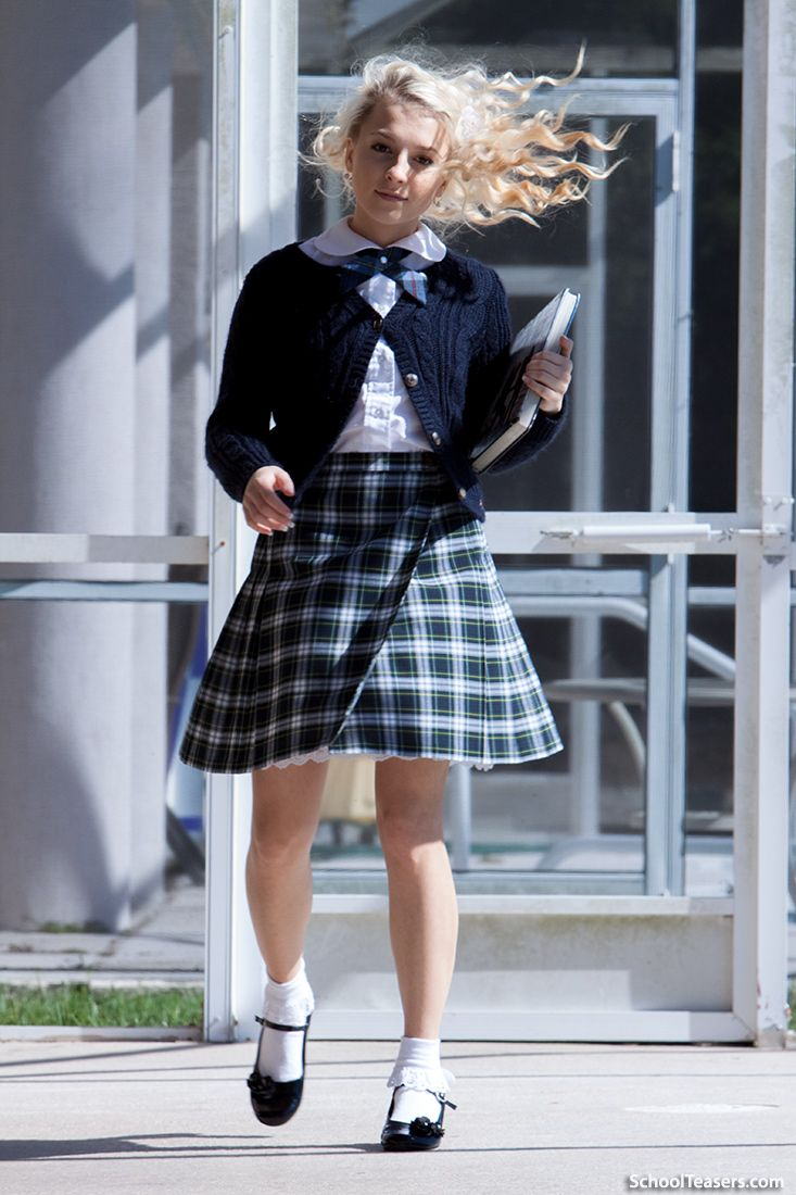 foto de Pin by Thomas Adams on glamourvision School girl outfit Girl outfits School uniform images