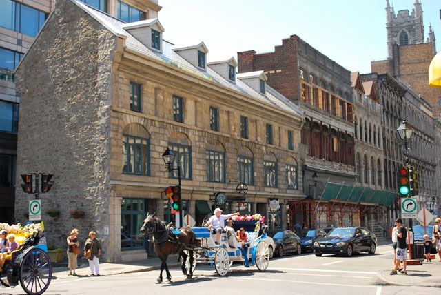 """You'll love the quaint area of """"Old Montreal"""""""