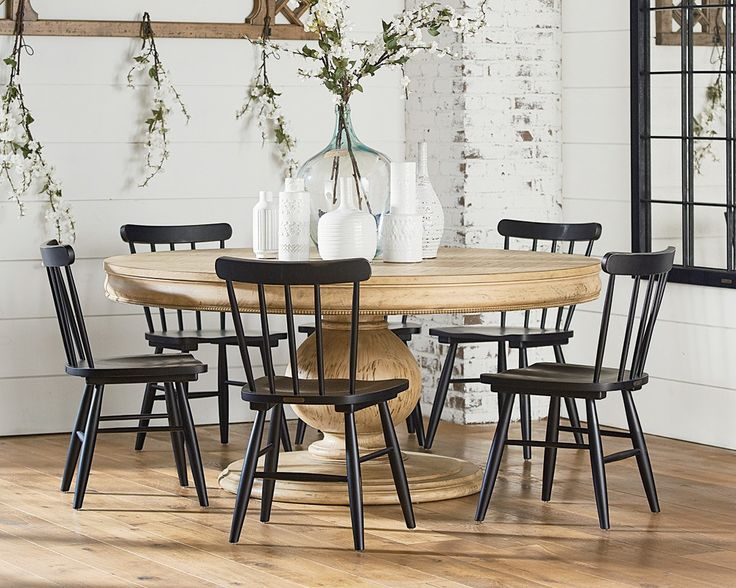 Belgian Breakfast Table With Vermont Chairs Magnolia Home