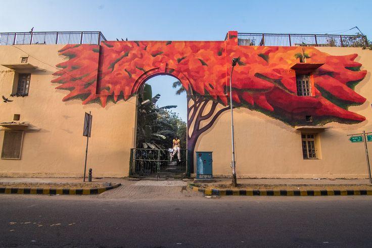 Over the last month, St+art India has been celebrating the New Delhi edition of the Street Art Festival– St+art Delhi 2016.