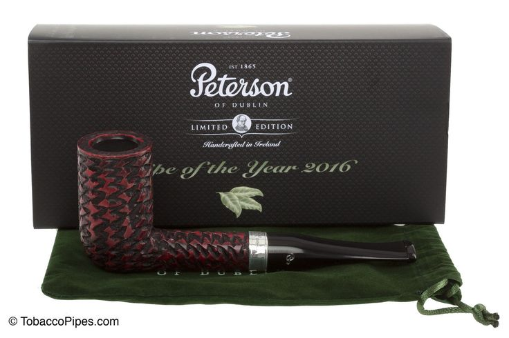 TobaccoPipes.com - Peterson Pipe of the Year 2016 Tobacco Pipe - Rustic…
