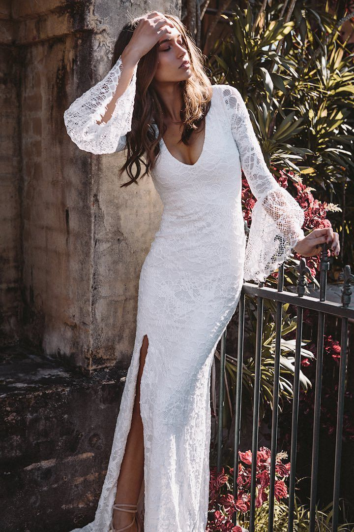 If you've been searching foreffortless dresses without the wedding-gown stereotype, let this new Grace Loves Lace wedding dress collection be your guide!