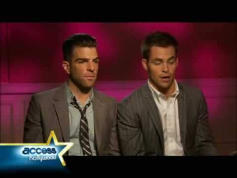 Chris Pine & Zachary Quinto being interviewed by a hardcore Trekkie back when their first Star Trek movie came out. This is probably THE funniest interview I have ever seen! Everything about it is awesome.