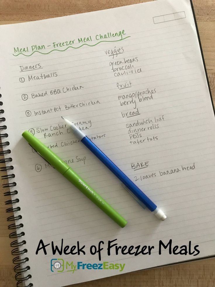 "It's a ""Freezer Meal Challenge"" Week at My House! Here's Why…"