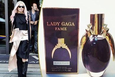 """Lovely summer perfume from Lady Gaga. """"Fame"""" is the name, with black color! http://www.i-live.gr/lady-gaga-arwma-fame/ #woman"""
