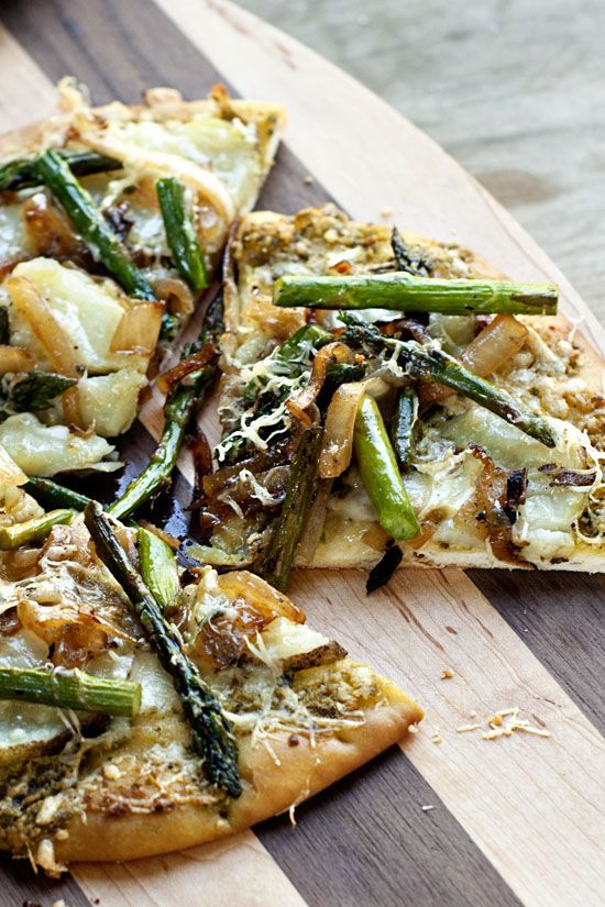 potato asparagus and so dig in asparagus and potato flatbread potato ...