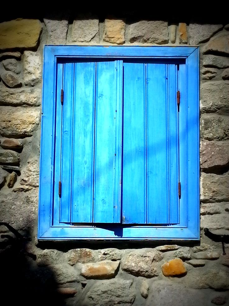 Window - Murina, Limnos island, Greece
