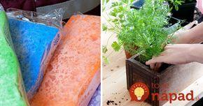 Kuchynská hubka je omnoho užitočnejšia, ako si myslíte: 11 netradičných využití, ktoré vás prekvapia!