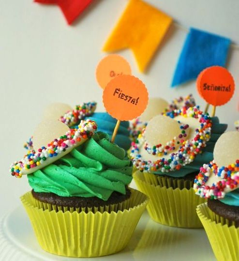 Party Frosting: Mexican Fiesta Party Ideas and Inspiration! Parties ...