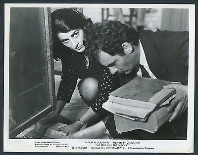 IRENE PAPAS GIAN MARIA VOLONTE in We Still Kill The Old Way ´67 LOOK