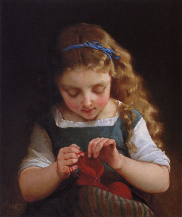 Does little mary crochet?