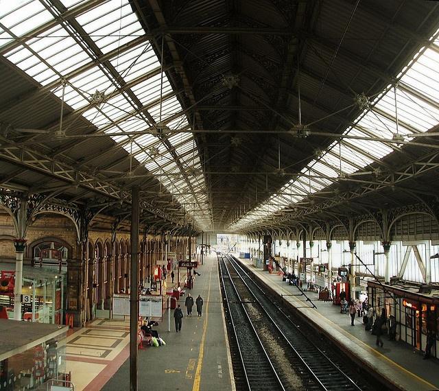 Preston railway station, Preston, Lancashire, England