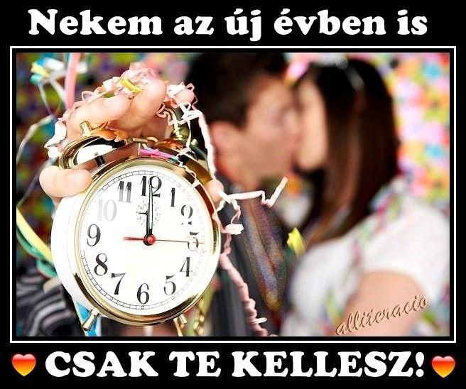 újévi szerelmes idézetek szilveszter, újév, BUÉK, csók, szerelem, képeslap, képek, vers