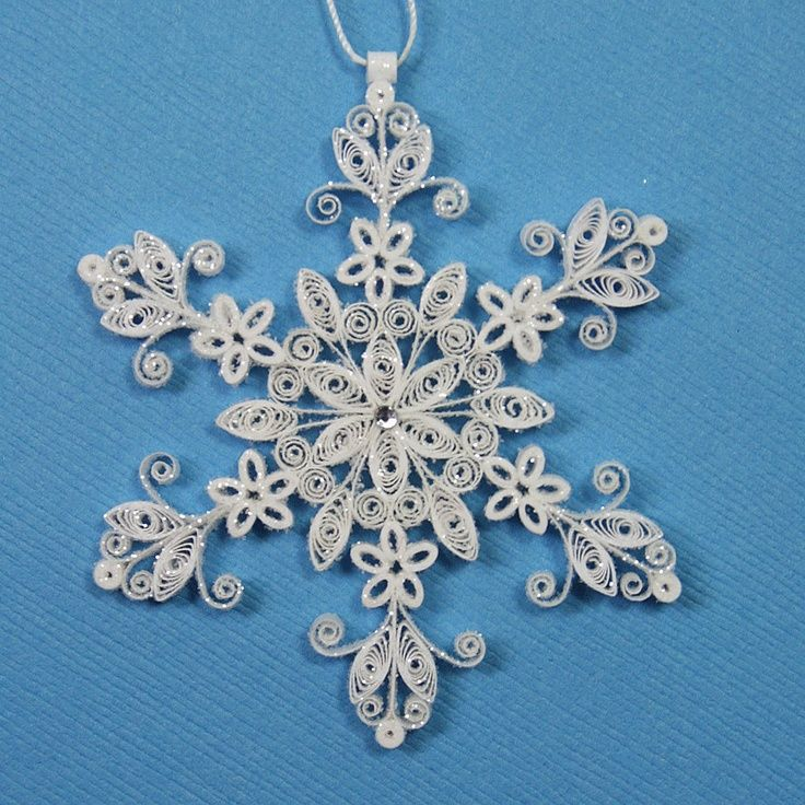 1506 Best Quilling Snowflakes Amp Stars Images On border=
