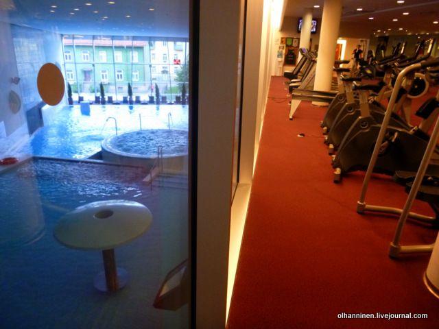 спортзал и спа Таллин