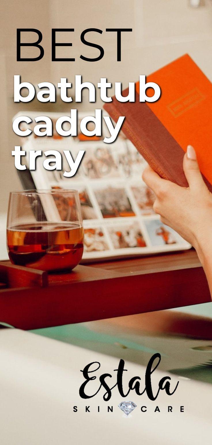 Best Bathtub Caddy Tray Check Out This Luxury High End Bathtub Caddy Tray And Diy Spa Bathtub Accessories From Estala In 2020 Bathtub Caddy Best Bathtubs Bathtub Tray