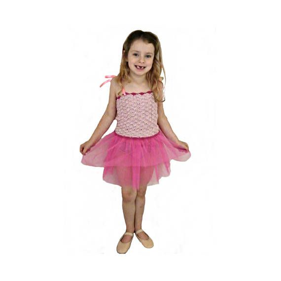 Ballet Dress Girls Fairy Crochet Tutu Etsy