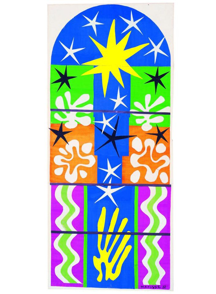 Henri Matisse - Nuit de Noël (1952)