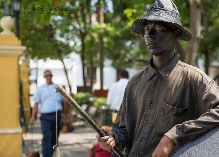 Negrito estatua