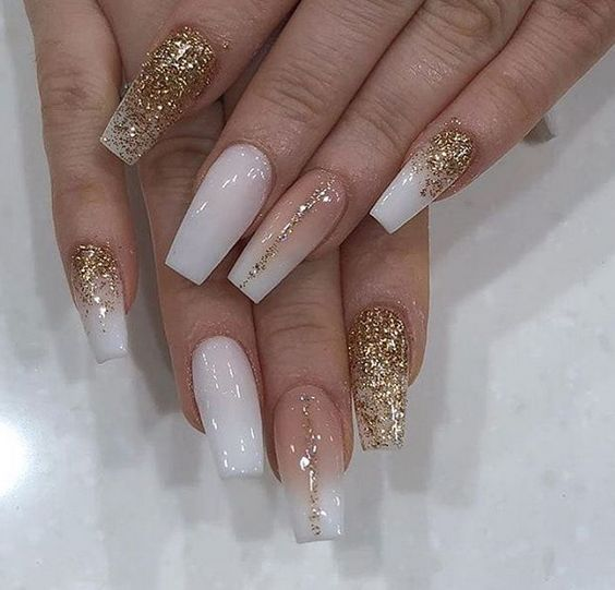 50 Chic Ombre Acrylic Coffin Nails Design In 2019